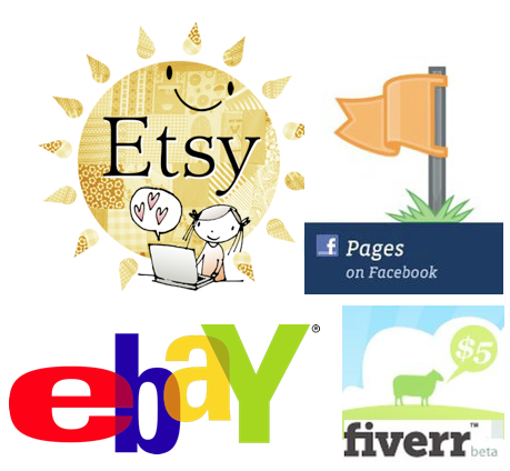 Using Etsy, Facebook, And Fiverr as a WAHM