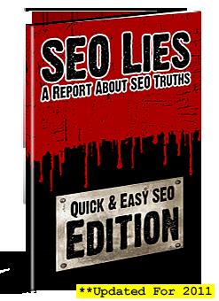 SEO Lies eCover
